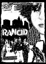 Rancid 'Ruby Soho' Punk Rock promo 85cm x 60cm Poster