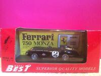 MODEL BEST SUPERBE FERRARI 750 MONZA CARRERA NEUF EN BOITE ech 1/43 N7