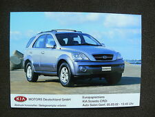 KIA Sorento CRDI-Press Photo Factory Photo Press Photo 03/2002 (k0011