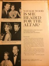 Natalie Wood, Three Page Vintage Clipping
