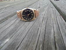 VINTAGE ALPINA 15 JEWELS GOLD FILLED WRISTWATCH 588 MOVT NICE INTERNATIONAL SALE