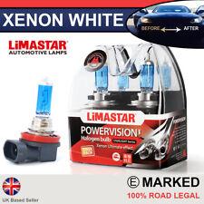 Xenon Blanco H11 55w Halógeno Luz De Niebla Faro Bulbos 6000k (par) 711 64211