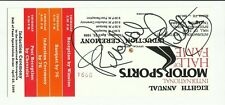 Richard Petty 1998 Motorsports Hall of Fame Induction Ceremony Autograph Ticket