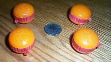 vintage lot plastic gumball toys HAMBURGERS vending machine charms FREE SHIPPING
