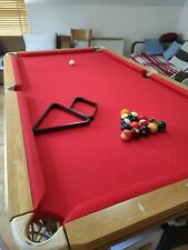 Mirage 8ft Slate Pool table in Great condition. Sale!!