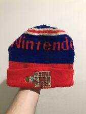 Vintage 1989 Nintendo Super Mario Bros Beanie Winter Hat Cap By Universal RARE