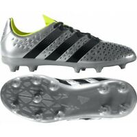 adidas Junior Ace 16.3 FG Football Boots Silver S79717 RRP £45