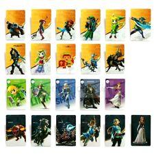 24Pcs Legend of Zelda BOTW Amiibo NFC Switch & Wii U Standard Game Card