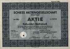 Schiess Düsseldorf 1942 Vulkan Bremen WEMA Aschersleben Metallgesellschaft 100er