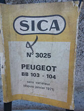 N.O.S courroie PEUGEOT BB 103 104 sans variateur mobylette N.O.S