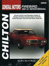 GM Firebird (1967-81) by Haynes Manuals Inc (Paperback, 1997)