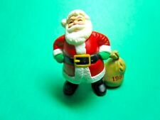 Vintage 1987 Hallmark Santa With Toy Bag Christmas Merry Miniature (C30)
