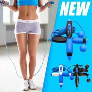 Jump Rope,Digital Counting Speed Jumping Rope Counter for Indoor and Outdoor Fit