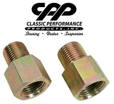 CPP Power Steering Adapter Fitting Inverted Flare Steering Box To O-Ring Hoses