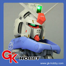 340 G-System Recast 1:35 RX-78 GP04 Gundam Bust Head with Base and LED System