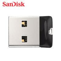 SanDisk Cruzer Fit CZ33 32GB Mini Nano Unidad USB Flash Drive Memoria ThumbStick