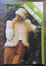Woolworths fashion knits knitting pattern book