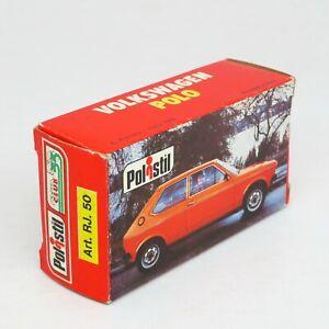 Polistil RJ50 - Volkswagen Polo - Original Empty Box - Die Cast 1/64 Italy VW