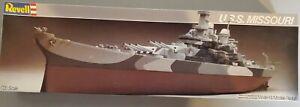 Revell U.S.S. Missouri 1983 1/720 Scale  New in Box Sealed