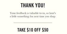 Abercrombie & Fitch $10 off $50 expires 5/25/18