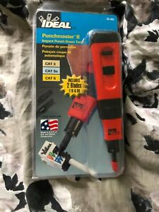 Ideal 35-485 Punchmaster Punch-down Tool w/110 & 66 Blades