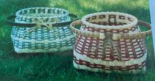 Basket Weaving Pattern Great Island Floor Basket by Mary Skillings