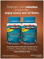 Kirkland Signature Ibuprofen 200 mg. 1000 Tablets
