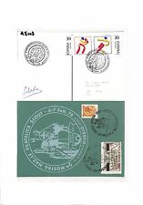 AI103 España Italia Postales Scout 1975