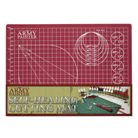 The Army Painter A4 Self Healing Cutting Mat With Markings ( 220 x 300mm) TL5049