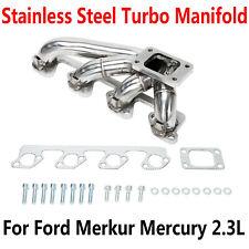 FIT FORD Merkur XR4TI MUSTANG SVO THUNDERBIRD 2.3L 84-86 TURBO T3 MANIFOLD