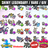 ✨31 Ultra Shiny LEGENDARY Bundle✨ 6IV Pokemon Sword & Shield FAST DELIVERY