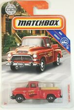 2019 Matchbox Red '57 GMC Stepside Antique Classic Pickup Truck 17/20
