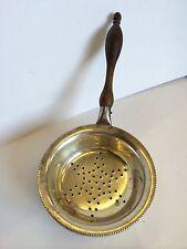 Vintage Graff Washbourne & Dunn Solid Silver Hallmarked Tea Strainer American