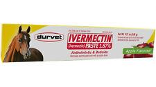 Durvet Horse Paste Apple Gel Equine Dewormer 1.87% 1 Box