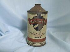 Vintage Golden Age Cone Top Beer Can 1 Quart Spokane Wa (Empty)