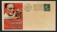 1933 Doctors Prefer Lucky Strike Cigarettes Featured on Collector's Envelope 510
