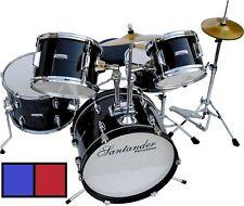 Gro�Ÿes Santander Kinderschlagzeug Komplett Set Drum set, 8 teilig, Auswahl