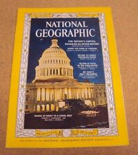 National Geographic January 1964 US Capitol Return to Tristan  Mt Sinai Diving