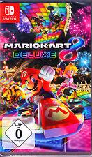 Mario Kart 8 Deluxe Nintendo Switch Spiel NEU (Super Rennspiel)