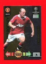 CHAMPIONS LEAGUE 2010-11 Panini 2011 -Card Champions- ROONEY - MAN UTD