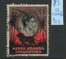 Kenya, Uganda & Tanganyika: Scott #85 Used