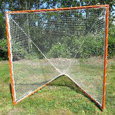 Lacrosse Goal & 3.0mm Net, Complete Frame & Netting 6' X 6' X 7'