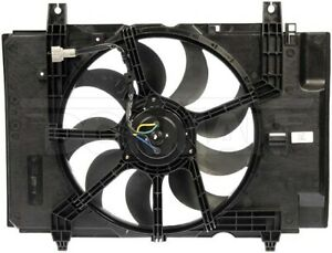 Dorman 621-495 Radiator Fan Assembly With Controller For 09 Nissan Cube