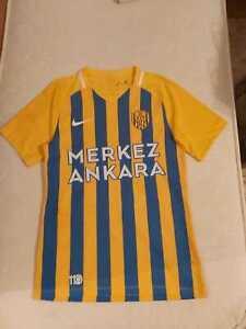 Ankaragucu 2020 Match Worn football shirt jersey trikot Turkey Nike
