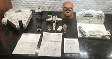Star Wars Micro Machines Lot - Falcon, Chewbacca, Hoth, Figures, Ships, More!