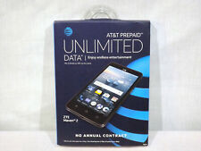 NEW AT&T Prepaid - ZTE Maven 2 4G LTE with 8GB Memory Cell Phone