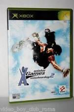 WINTER X GAMES SNOWBOARDING 2 GIOCO USATO BUONO STATO XBOX ED. ITA FR1 32771