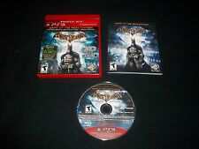 Playstation 3 Game - PS3 - BATMAN - ARKHAM ASYLUM - COMPLETE  FREE SHIPPING