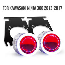 Tailor-Made Fit Kawasaki Ninja 300 2013-2018 LED Angel Eye HID Projector