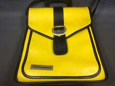 Ancienne sacoche Cycles Peugeot vintage jaune neuve collection publicité